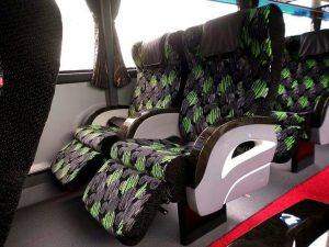 Seats in KKKL Express